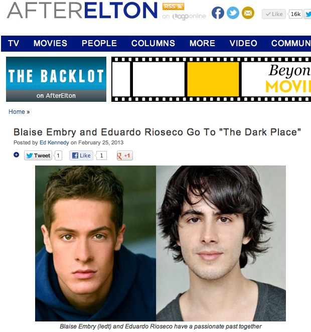 The Backlot Spotlights 'Dark Place' Casting News