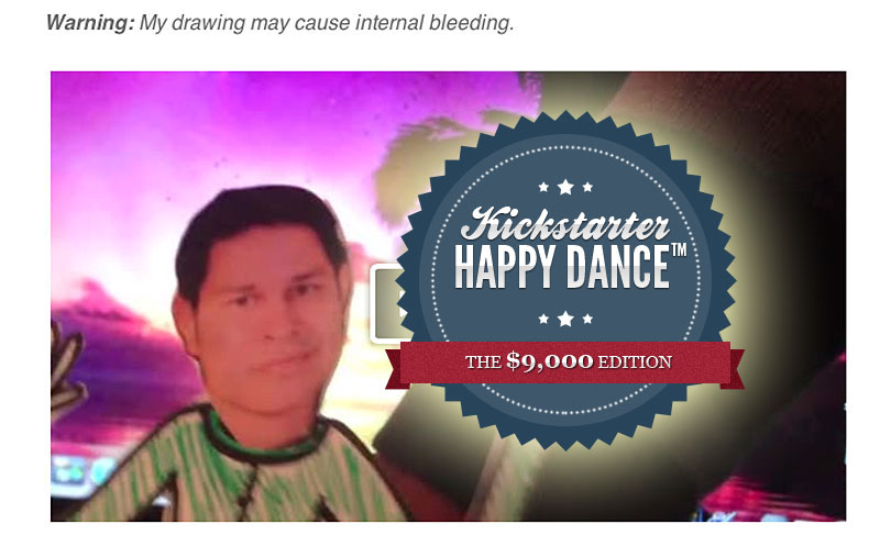 J.T.'s $9,000 Happy Dance: Puppet Edition