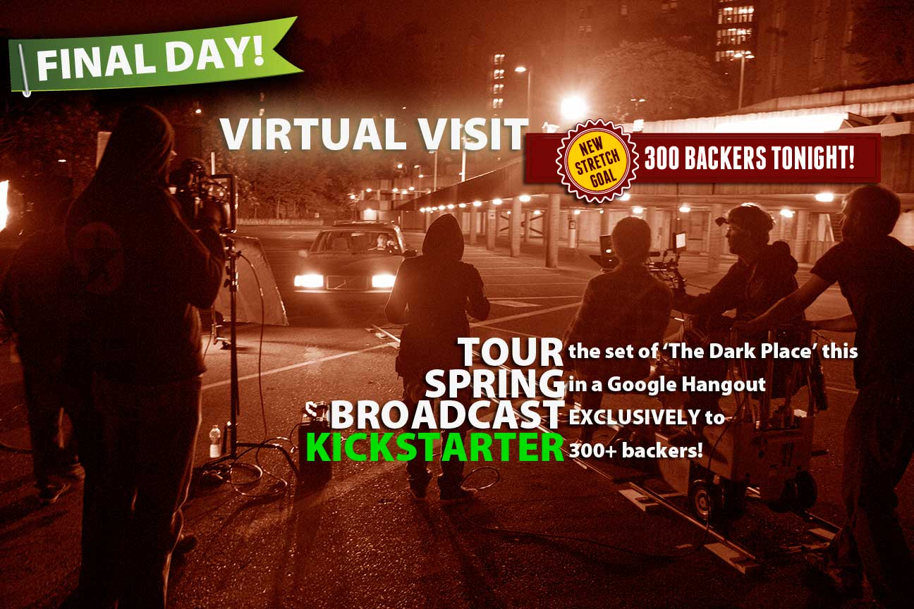 Stretch Goal: 300 Backers, Virtual Visit of the Set
