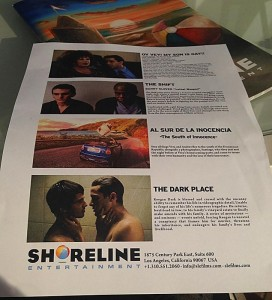 FLYER Shoreline Entertainment included 'The Dark Place' on its slate of films at the American Film Market.