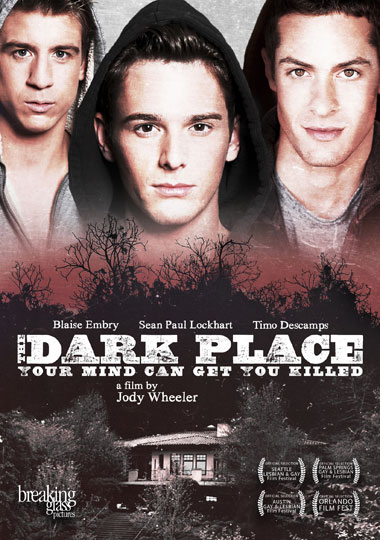 THE OFFICIAL poster/DVD cover for 'The Dark Place' release in the United States.