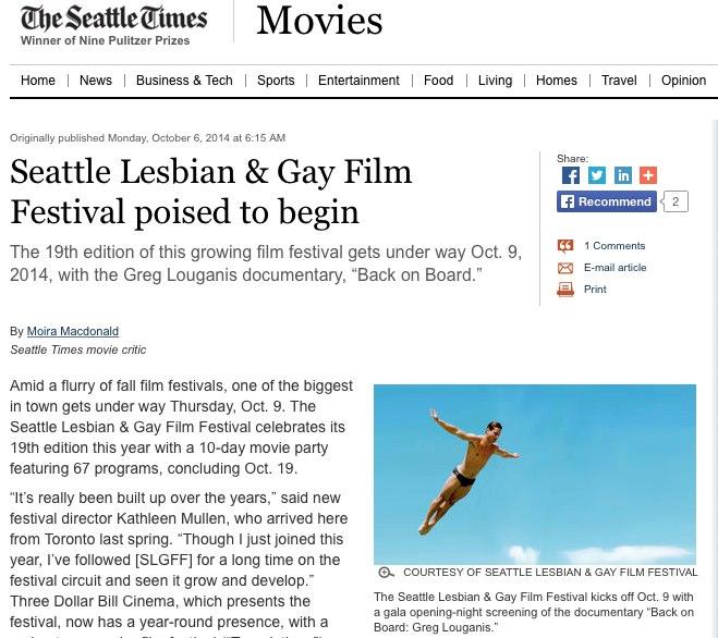 Seattle Times Spotlights 'Dark Place' Producer