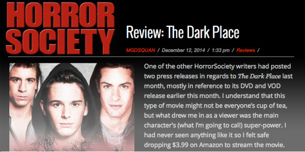 'Fantastic Actors, Clever Story & a Superpower' – Horror Society